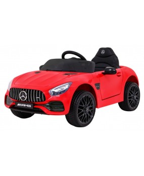 Elektrické autíčko Mercedes Benz GT červené